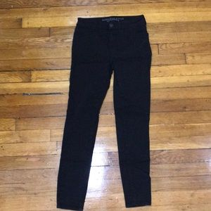 AE High Rise Jegging Black Size 2